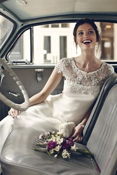 So lovely! Avalon Gown   See the BHLDN lookbook on Dress for the Wedding