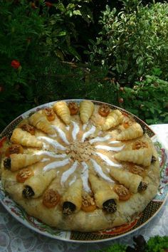 Pastilla au poulet et fruits sec - Maroc Désert Expérience tours http://www.marocdesertexperience.com