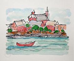 Sketchbook Wandering: France