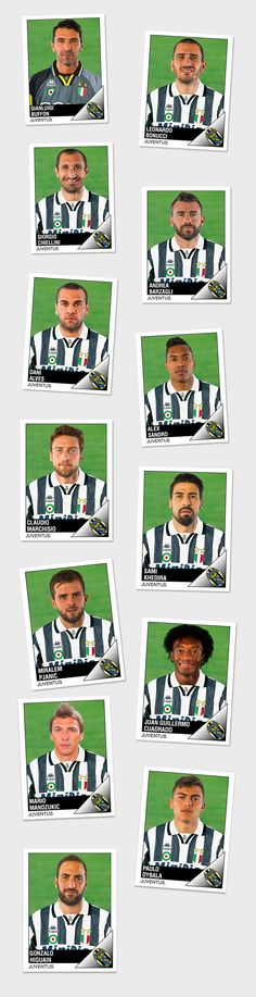 Vedi il mio progetto @Behance: \u201cFC JUVENTUS | PANINIStickers From 2017 to 1996\u201d https://www.behance.net/gallery/50418635/FC-JUVENTUS-PANINIStickers-From-2017-to-1996