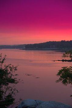✯ Maine Sunset