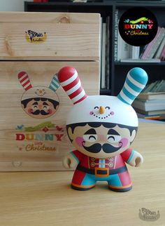 """This is a custom of 8"""" Dunny, comes in Wooden packaging. the wooden packaging is huge and heavy, so the shipping cost a little bit expensive  $60 Worldwide"""