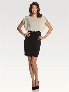 Laura Dresses: Women's sheaths, shifts, gowns & little black dresses for day, night or cocktails Bow Back Dresses, Dresses For Work, Laura Dresses, Bows, My Style, Pretty, Work Clothes, Black, Cocktails