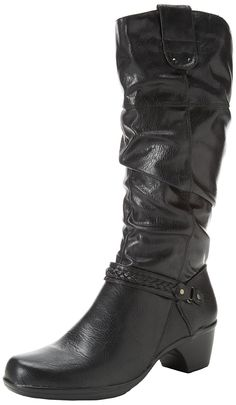 Easy Street Women's Joya Plus Western Boot -- Check this awesome image  : Boots Mid Calf