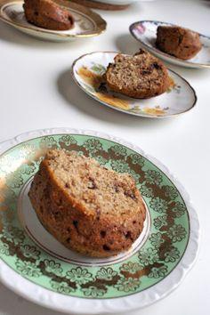 glutenfree Unicorn - Nusskuchen mit Schokolade