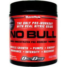 NO BULL  Muscle Meds ! Dobra pompa, dobre pobudzenie, dobre skupienie :)!