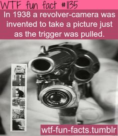 1938 revolver camera  MORE OF WTF-FUN-FACTS are coming HERE guns - funny and weird facts ONLY
