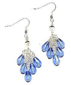 Saphire Rain Earrings