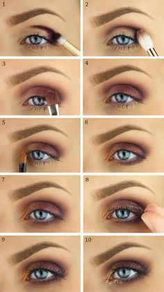 makeup, tutorial, smink, step by step, eyemakeup, party makeup, glitter