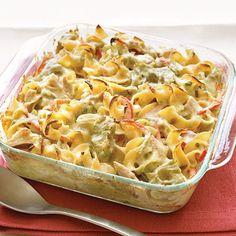 Mediterranean Tuna-Noodle Casserole #tipsandtricks #classicreinvented