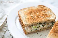 """""""Meilleur thon jamais Salade Sandwich recette"""""""