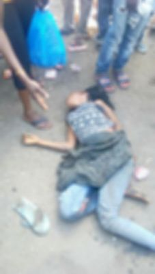 Bread seller knocked down and killed by commercial bus at Sango Toll Gate