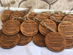 Personalized Favors or Ornaments are the traditional symbol of love so it makes sense our favors wedding favors are treasured by wedding parties and wedding guests alike. Inspired by the beauty of true love, these handcrafted favors for decorations capture the magic of a wedding in a lasting Custom Wedding Favours, Wedding Tags, Personalized Wedding Favors, Wedding Favors For Guests, Gifts For Wedding Party, Party Gifts, Wedding Parties, Wedding Ideas, Wedding Planning
