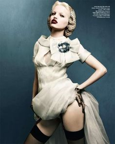 Trailer Park Fashion - The Wonderland Magazine April-May 2012 Issue Stars Josephine Skriver (GALLERY)