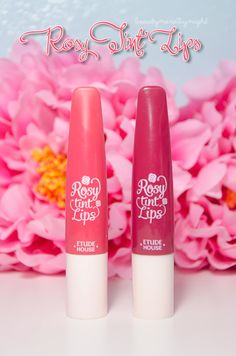 Etude House Rosy Tint Lips Review + Swatches