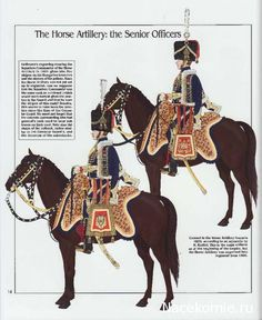 Ufficiali superiori dell'artiglieria a cavallo
