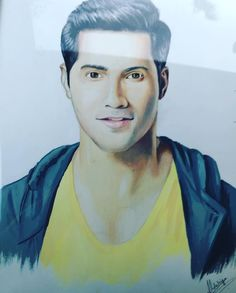 One of the coolest gifts. Got this painting from a very talented young boy Aakash . Thank u so much. This is soo professionally done. #amazing #fanart by varundvn