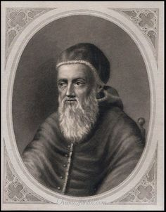 Papa Julio II, grabado