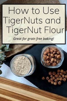 Tigernuts are a delicious root vegetable that make a wonderful snack and excellent grain free flour as well as dairy free milk perfect for any kitchen. Paleo Recipes, Whole Food Recipes, Flour Recipes, Elimination Diet Recipes, Tigernut Flour, Vegan Milk, Dairy Free Milk, Good Enough To Eat, Paleo Dessert