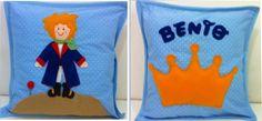 Almofada decorativa personalizada pequeno príncipe