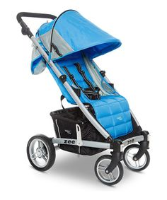 Look what I found on #zulily! Blue Zee Single Stroller by Valco Baby #zulilyfinds
