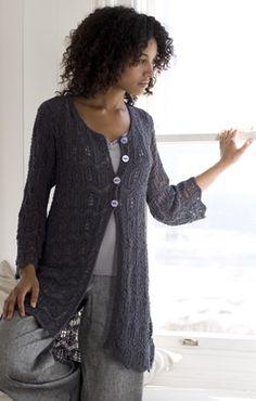 Long Jacket FREE PATTERN Modell des Monats Mai 2009