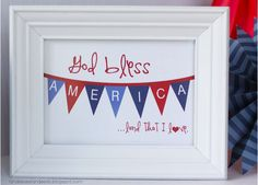 20 Free 4th of July Printable Games and Decor! - Tip Junkie