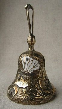 "Алексеев Станислав. Колокольчик ""Энотера желтая"". Латунь,эмаль. Ring My Bell, Dinner Bell, Vintage Ornaments, Bottle Art, Art Object, Mug Shots, Happy Mothers Day, Decorative Bells, Sculptures"