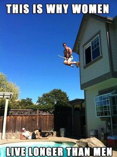 Funny This Is Why Women Live Longer Than Men