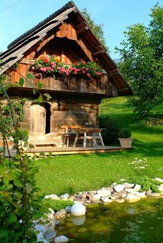 50 Tiny Houses You Can Rent on Airbnb in Tiny House Movement // Tiny Living // Tiny House Cabin // Austria Tiny Home // Tiny House Cabin, Tiny House On Wheels, Cabin Homes, Cozy House, Tiny Houses, Swiss House, Tiny House Exterior, Cottage Style Homes, Romantic Cottage