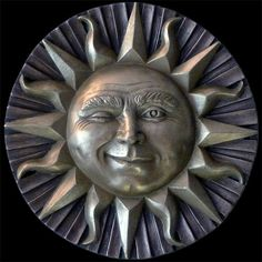 Hey, I found this really awesome Etsy listing at https://www.etsy.com/listing/158591009/small-winking-sun-face-wall-plaque-in