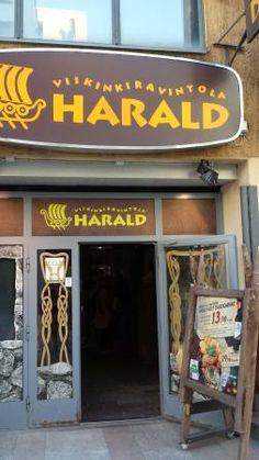 Viikinkiravintola Harald, Viking Restaurant Harald. Traditional Scandinavian cuisine
