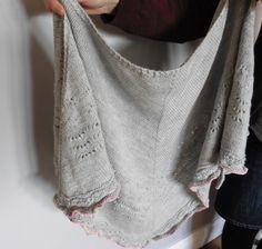 Arrosa shawl - pattern by Jennifer Weissman from pompom quarterly issue 20