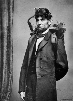 Who ya gunna call? Abe Lincoln!