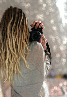 Ombre dreads