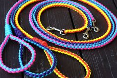 Paracord Round Dog Leash - Paraco