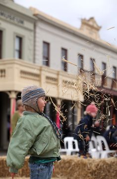 Enjoying the fun of the fair Clunes Booktown May 2012 from www.secretsmagazine.com.au