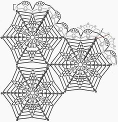 3372 best crochet Doilies & motifs images on Pinterest