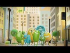 "Cricket Wireless - ""Something To Smile About"" (2014): New Deal Studios and Psyop paired up to create this charming ad for Cricket.  Love the rubber hose style animation!  It did give me something to smile about. :)"