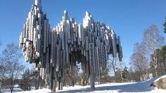 Sibelius Monument. Finland
