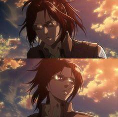 Hanji Attack On Titan, Hanji And Levi, Mikasa, Anime Demon, Manga Anime, Nada Personal, Aot Characters, Ymir, Levihan