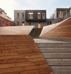 MDW ARCHITECTURE, Julien Lanoo · Residential complex Le Lorrain · Divisare