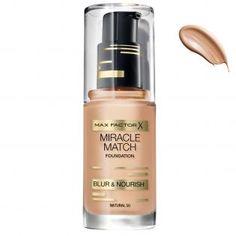 Max Factor Miracle Match Fondöten Natural 50 - 30 ml #makyaj  #alışveriş #indirim #trendylodi  #MakyajÜrünleri #bakım #moda #güzellik #makeup #kozmetik