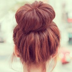 perfect color and bun <3