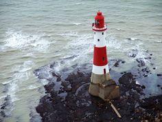 Lighthouse, Beachy Head, Eastbourne, seaside