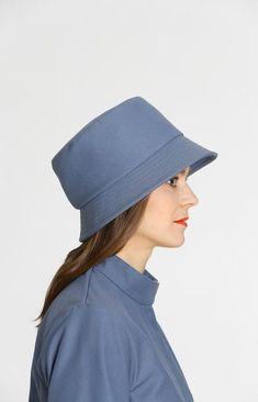 Wisdom Hat Provincial Blue