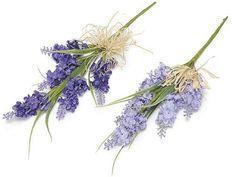 Lavender Artificial Flowers Bouquets 5 pcs by lallehandmade