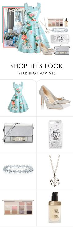 """""""Host"""" by scarlett-anon ❤ liked on Polyvore featuring Jimmy Choo, Proenza Schouler, Kate Spade and Lily Charmed"""