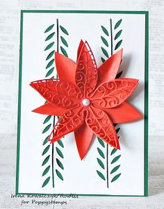 7.09-3p whimsy leaf and luxe poinsettia