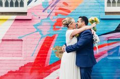 A lovely intimate wedding ceremony in the Mayors Parlour at Islington Town Hall, a cheeky pint across the road then a wander around Shoreditch before their celebration dinner at Smiths in Wapping. …